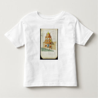 Exhibition Cabinet, c.1860s-70s (w/c & pencil on p Toddler T-shirt