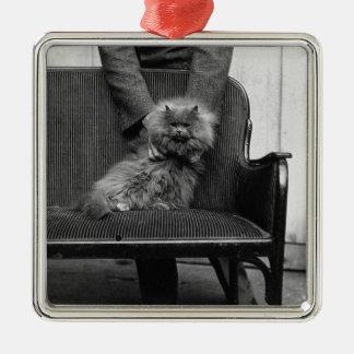 Exhibition Cat Club - Mondial 493 Metal Ornament