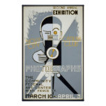 Exhibition for Sioux City Camera Club WPA Vintage Poster