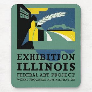 Exhibition Illinois Mouse Pad