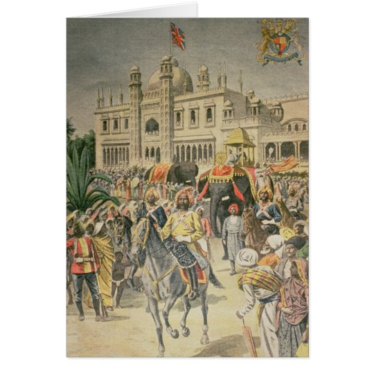 Exhibition of 1900: the Anglo-Indian Pavilion Card