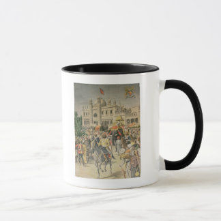 Exhibition of 1900: the Anglo-Indian Pavilion Mug