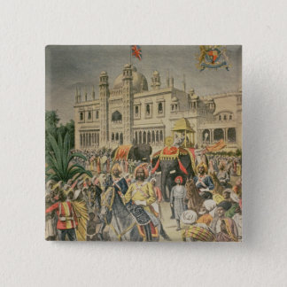 Exhibition of 1900: the Anglo-Indian Pavilion Pinback Button