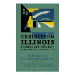 Exhibition of Illinois Poster