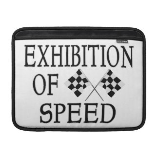 Exhibition Of Speed Checkered Race Flags MacBook Air Sleeve