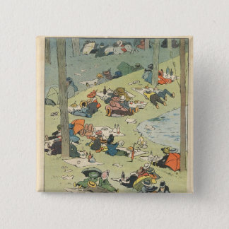 Exhibition of the culinary arts pinback button