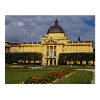 Exhibition Pavilion, Zagreb, Croatia Postcard