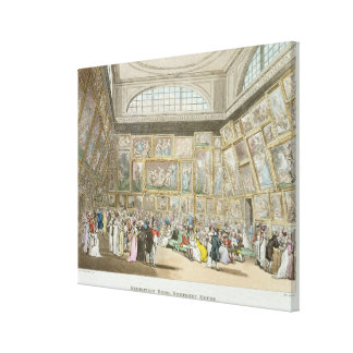Exhibition Room, Somerset House Canvas Print