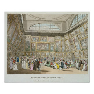 Exhibition Room, Somerset House Poster