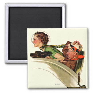 Exhilaration 2 Inch Square Magnet