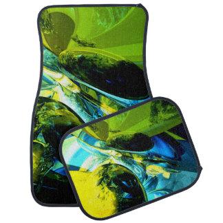 Exhilaration Abstract Car Mat