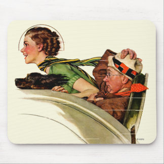 Exhilaration Mouse Pad