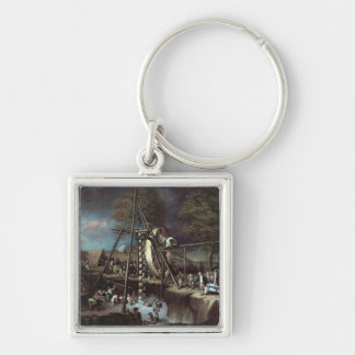Exhumation of the Mastodon, 1806 Keychain