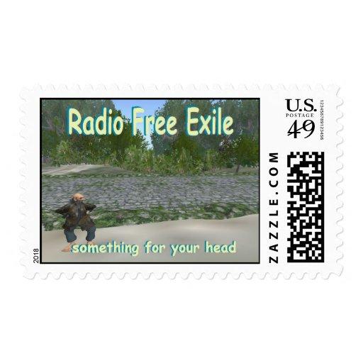 exilio libre de radio franqueo