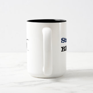 Existe 15 onzas. Taza de café estratégica de la