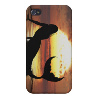 Existence Mermaid Iphone 4 skin cover case iPhone 4/4S Case