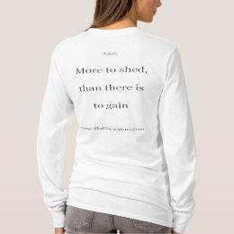 Existence wmen basic long sleeve T T-Shirt