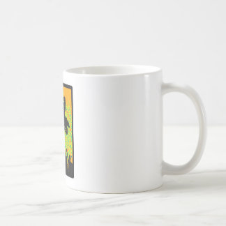 EXISTENCIA DEL MÓVIL DE LA NIEVE TAZA DE CAFÉ