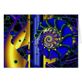 existencialismo 2 tarjeta de felicitación