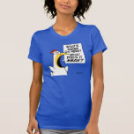 """Existential Chicken by Sandra Boynton T-Shirt<br><div class=""""desc"""">A frantic Boynton chicken struggles to make sense of a bewildering world. """"What's going on here? What does it MEAN?""""</div>"""