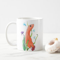 Existential Dread Fish Coffee Mug