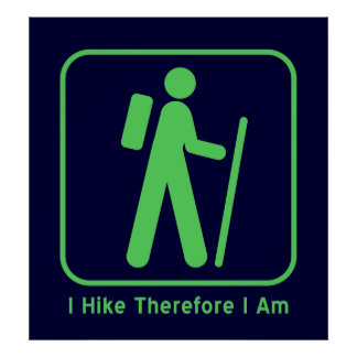Existential Hiker Poster