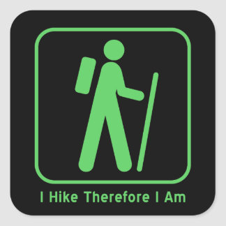 Existential Hiker Sticker