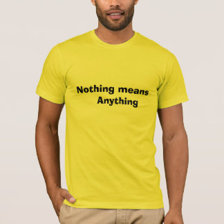 Existential shirt