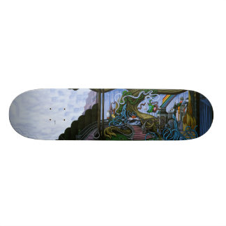 Existing Only in the Light Skateboard Deck