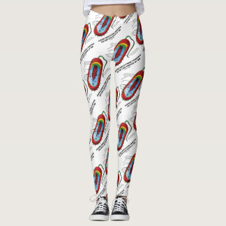 Existing Under Extreme Conditions Time Bacterium Leggings
