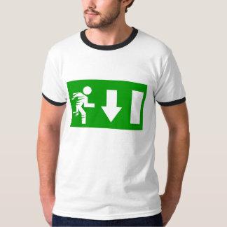 Exit, fire! T-Shirt