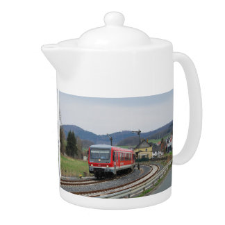 Exit from peace village in the upper Lahn valley Teapot