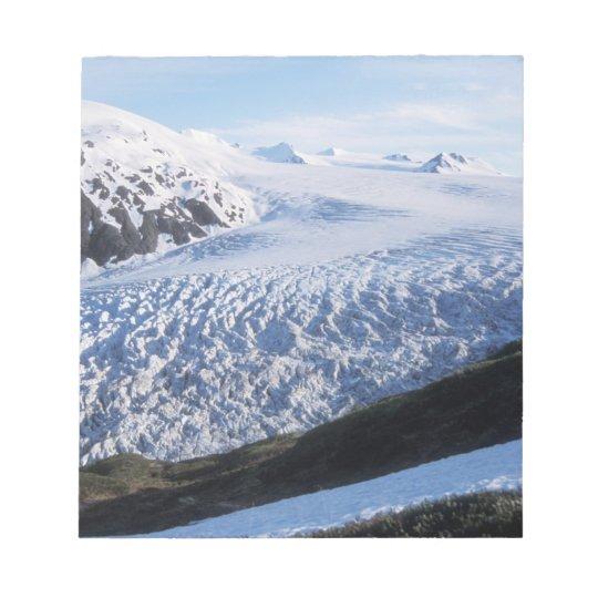 Exit Glacier in Kenai Fjords National Park, Notepad