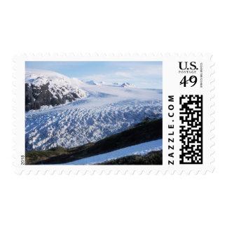 Exit Glacier in Kenai Fjords National Park, Postage