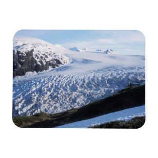 Exit Glacier in Kenai Fjords National Park, Rectangular Photo Magnet