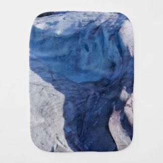 Exit Glacier Waves Baby Burp Cloth
