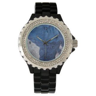 Exit Glacier Waves Wrist Watch