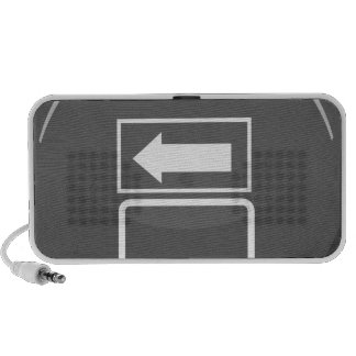 Exit Icon Design Element Button Speaker System