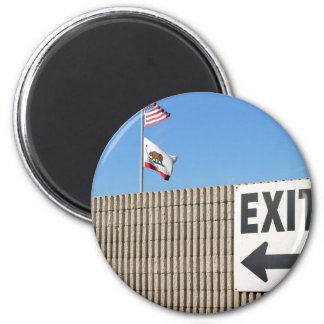 Exit Refrigerator Magnets