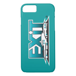 Exit Realty iPhone 7 case - teal