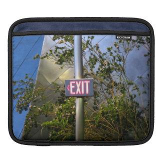Exit Sign iPad Sleeves