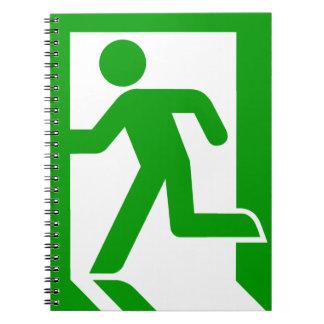 Exit Symbol Notebook
