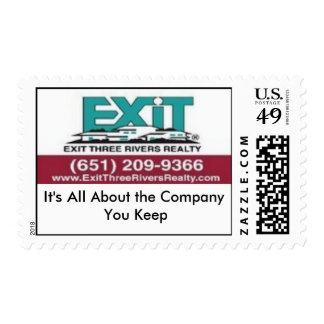 Exit Three Rivers Realty Postage