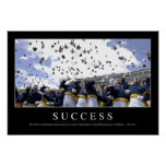 Éxito: Cita inspirada Póster