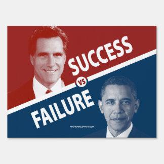 Éxito contra el fracaso - Romney contra muestra de Cartel