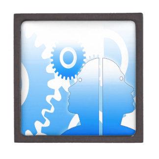 éxito de la experiencia del tiempo de la inteligen caja de recuerdo de calidad