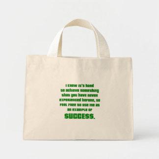 Éxito: Déjeme mostrarle cómo ha hecho Bolsa Tela Pequeña