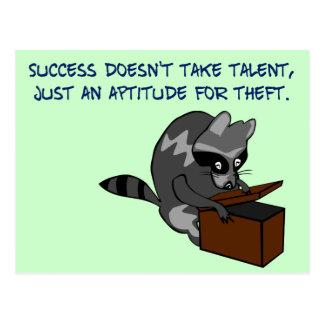 Éxito - haciendo la mayor parte de algún otro postales