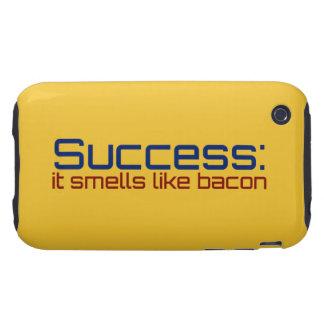 Éxito: Huele como el tocino iPhone 3 Tough Coberturas