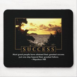 Éxito Mousepad inspirado